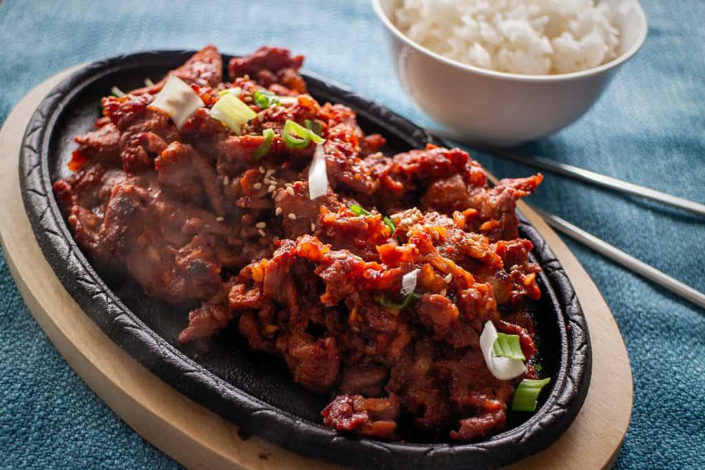 26 Spicy Chicken / 매운 닭고기 /