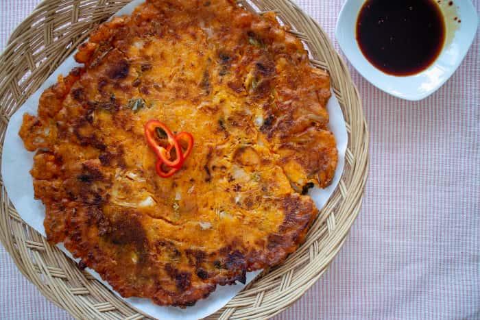 Kimchi Pancake /김치전/