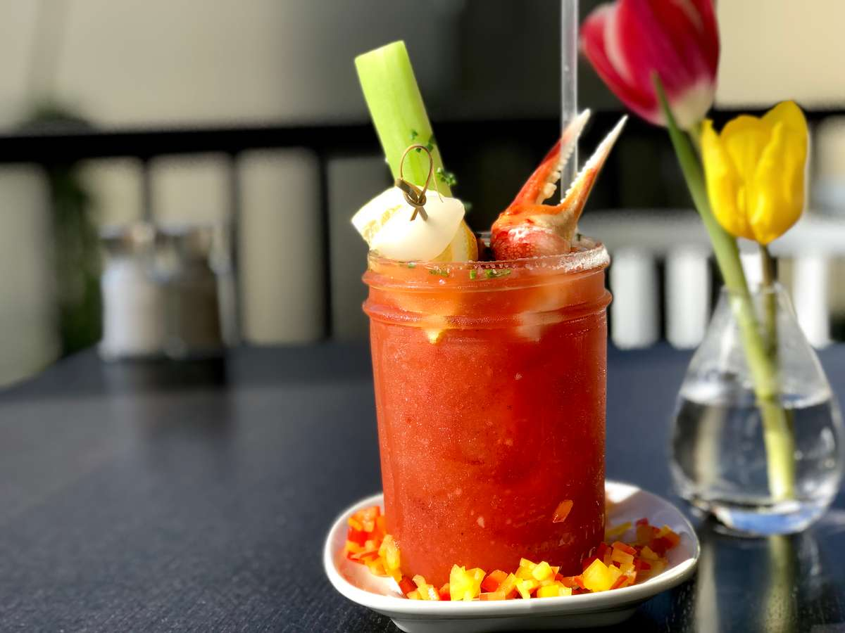 Smoked Chipotle, Crab&Cucumber Bloody Mary