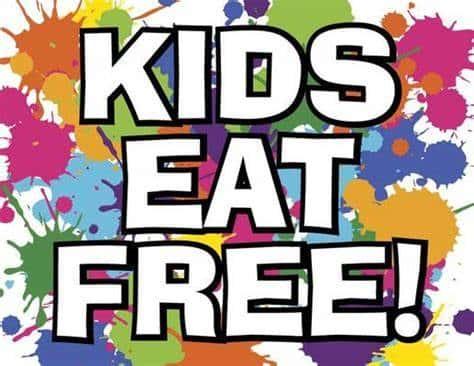 Kids Eat Free on Thursday