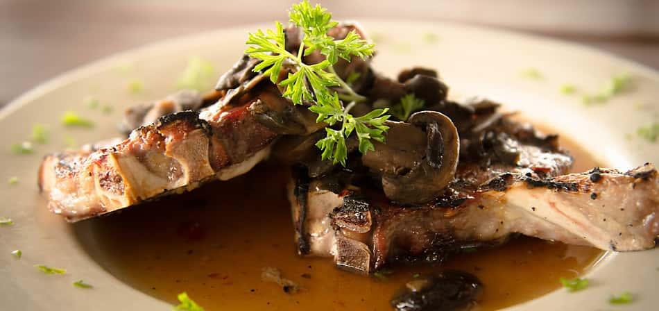 Mayhaw Pork Chops