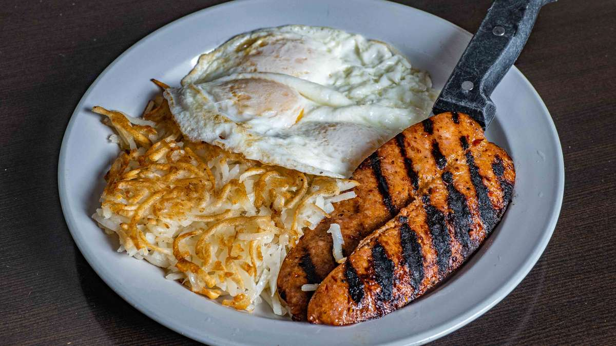 Cajun Sausage & Eggs