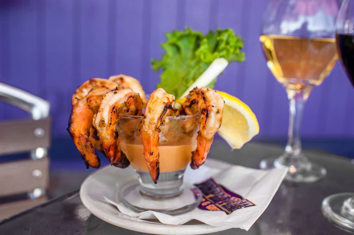 Grilled Prawn Cocktail