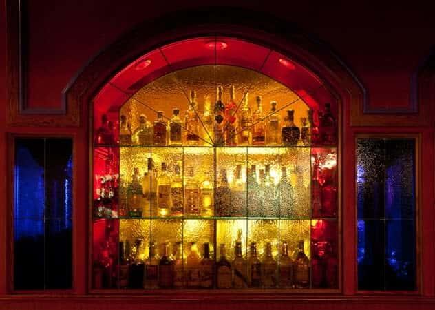 liquor wall