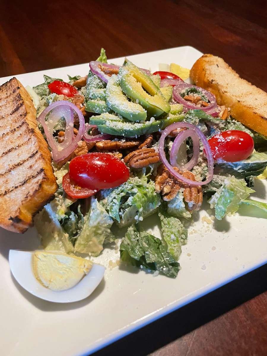 Whole 30 Caesar Salad