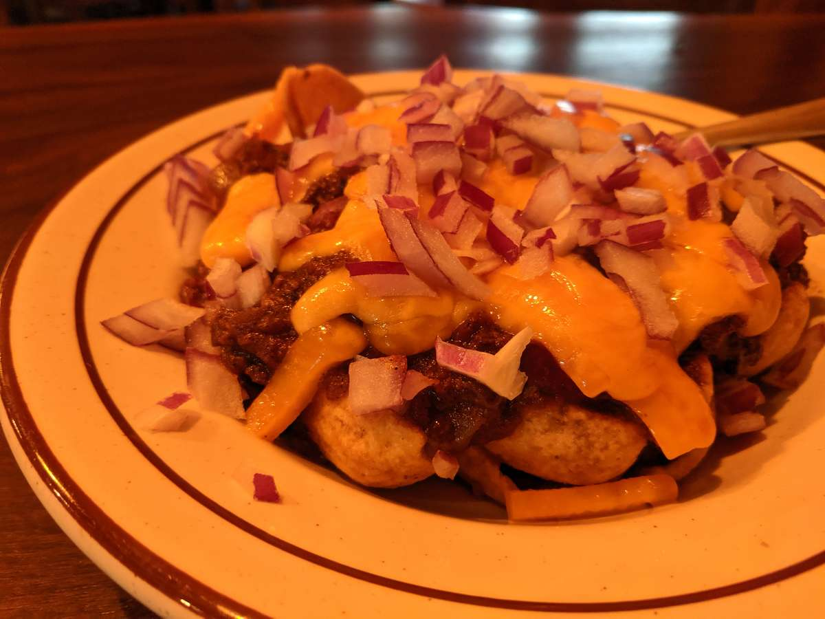 Trail Break Chili Fries