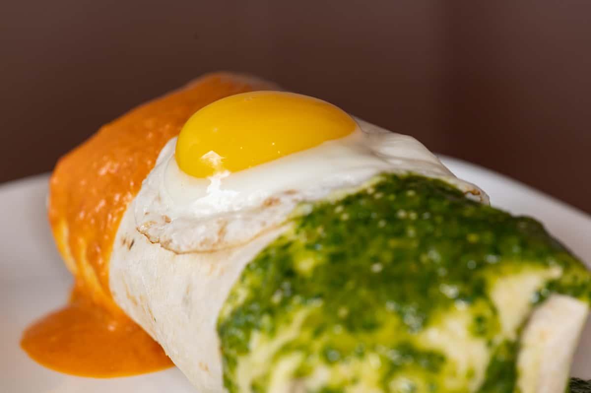 Smothered Breakfast Burrito