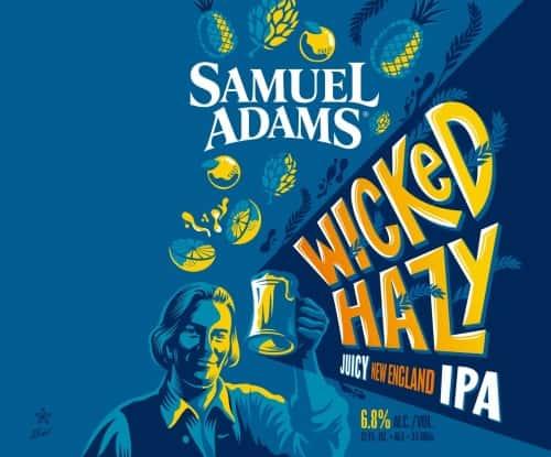 Sam Adams   Wicked Hazy IPA