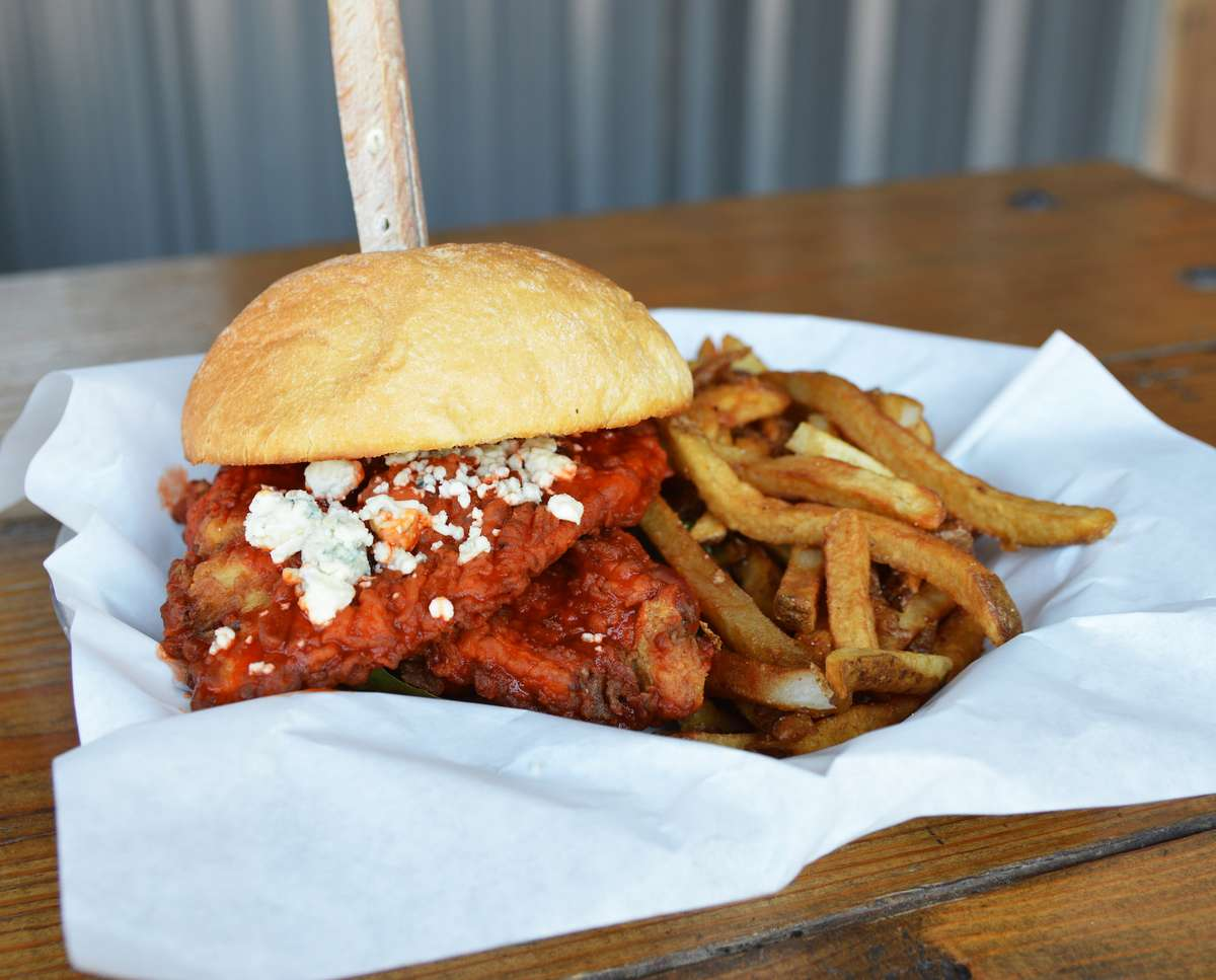 The Buffalo Chicken Sandwich