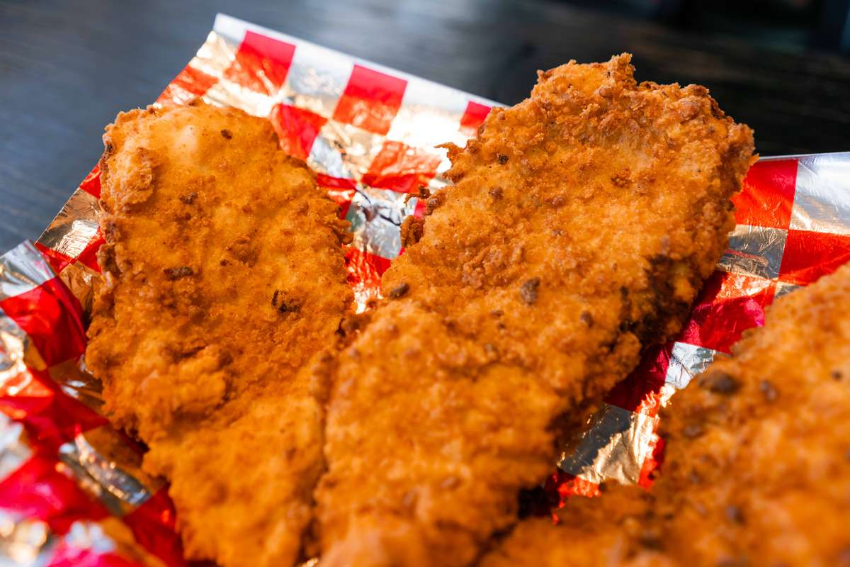Giant Smoked Chicken Tenders