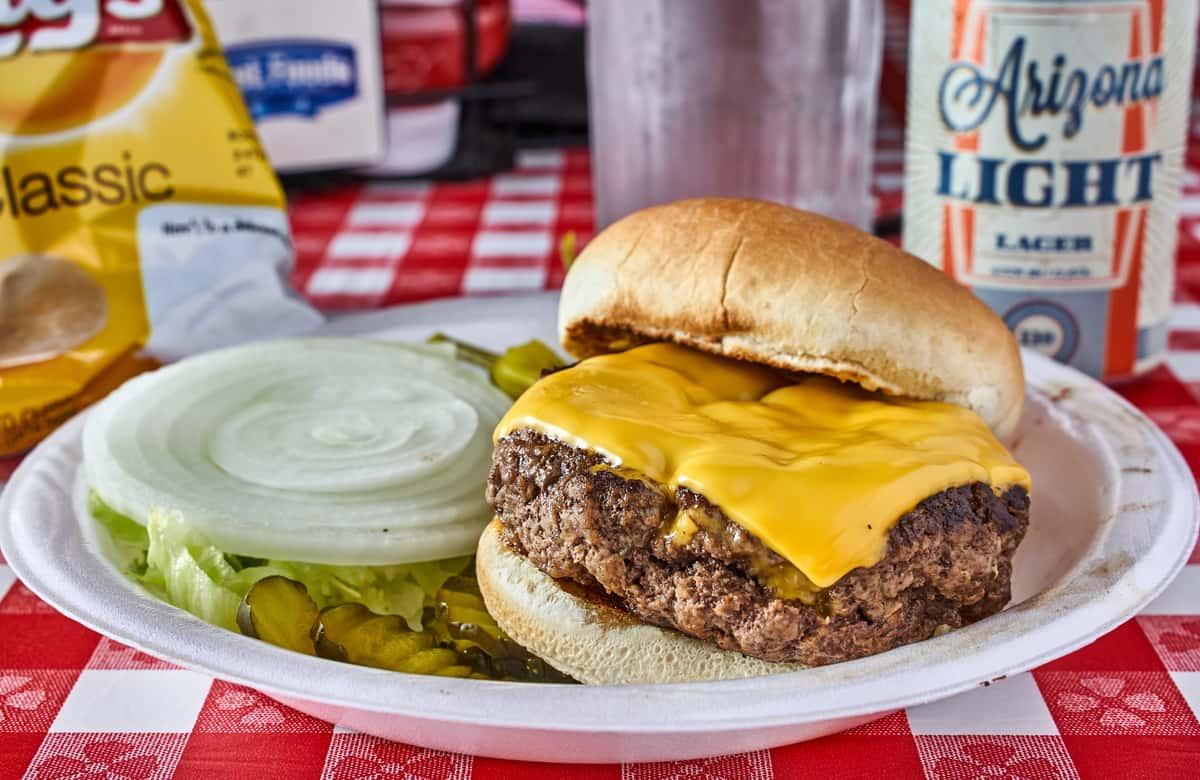 *Cheeseburger