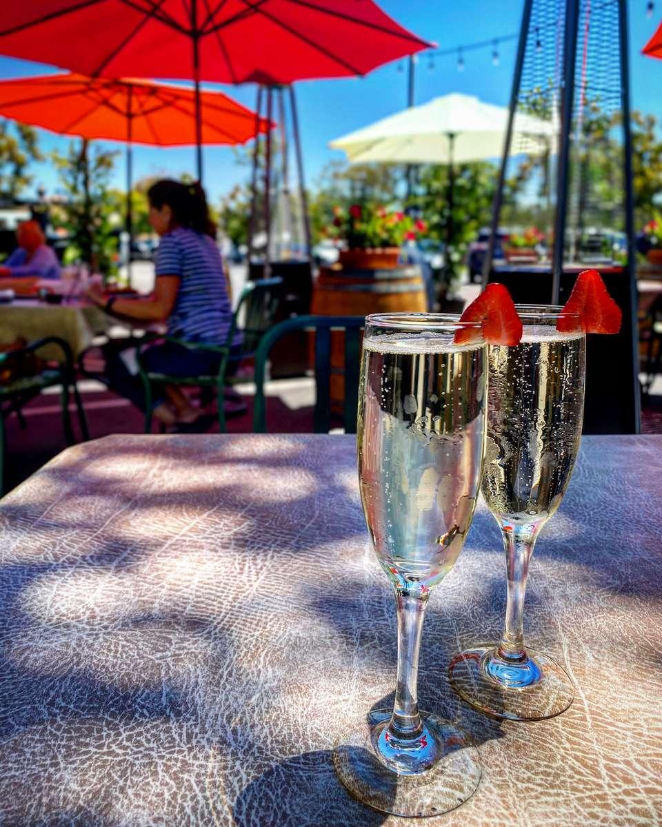 Patio Champagne!