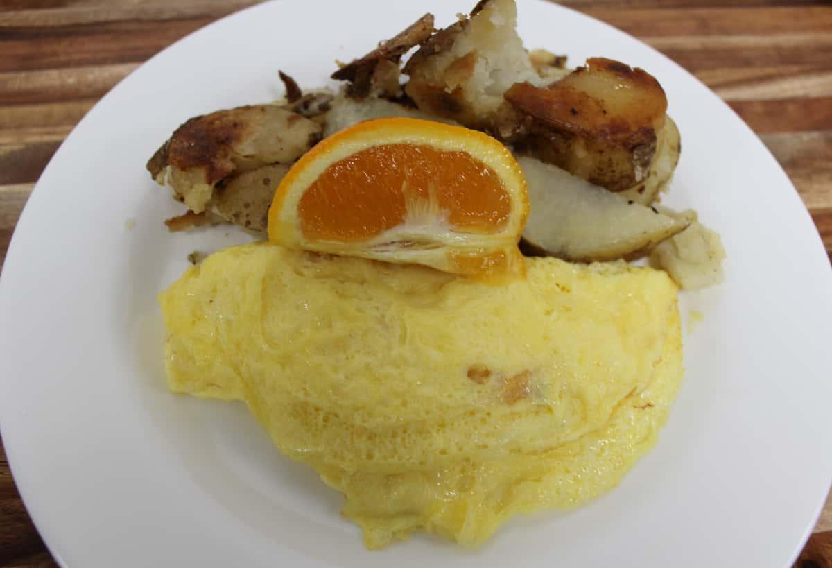 Fluffy Three Egg Omelette