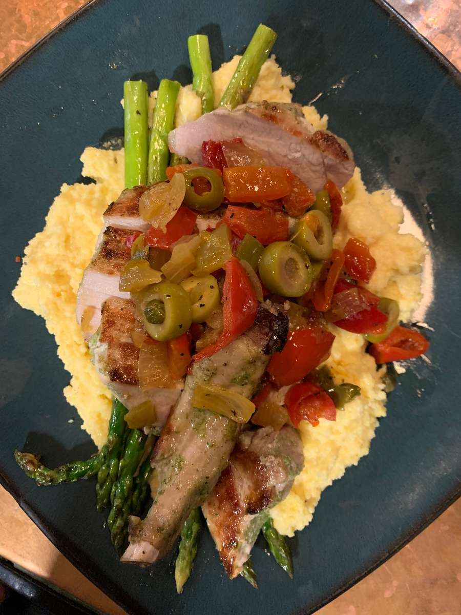 Grilled Marinated Pork Chop