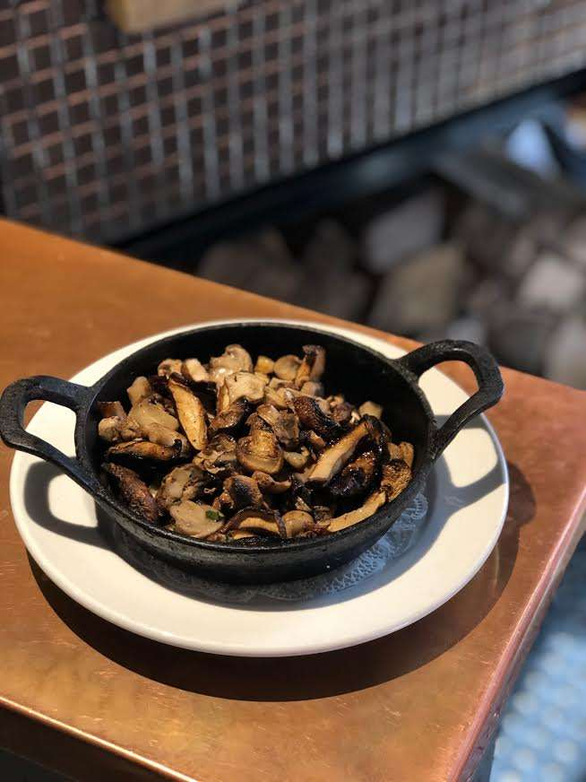 Roasted Mushrooms. GF