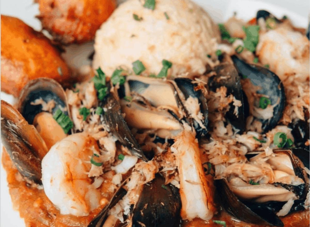 Seafood Gumbo & Grits