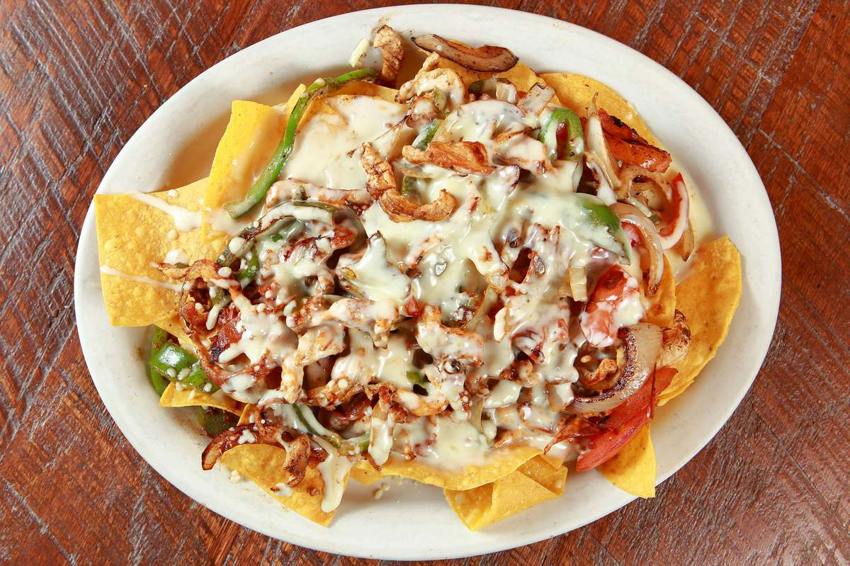 Nachos from the Grill