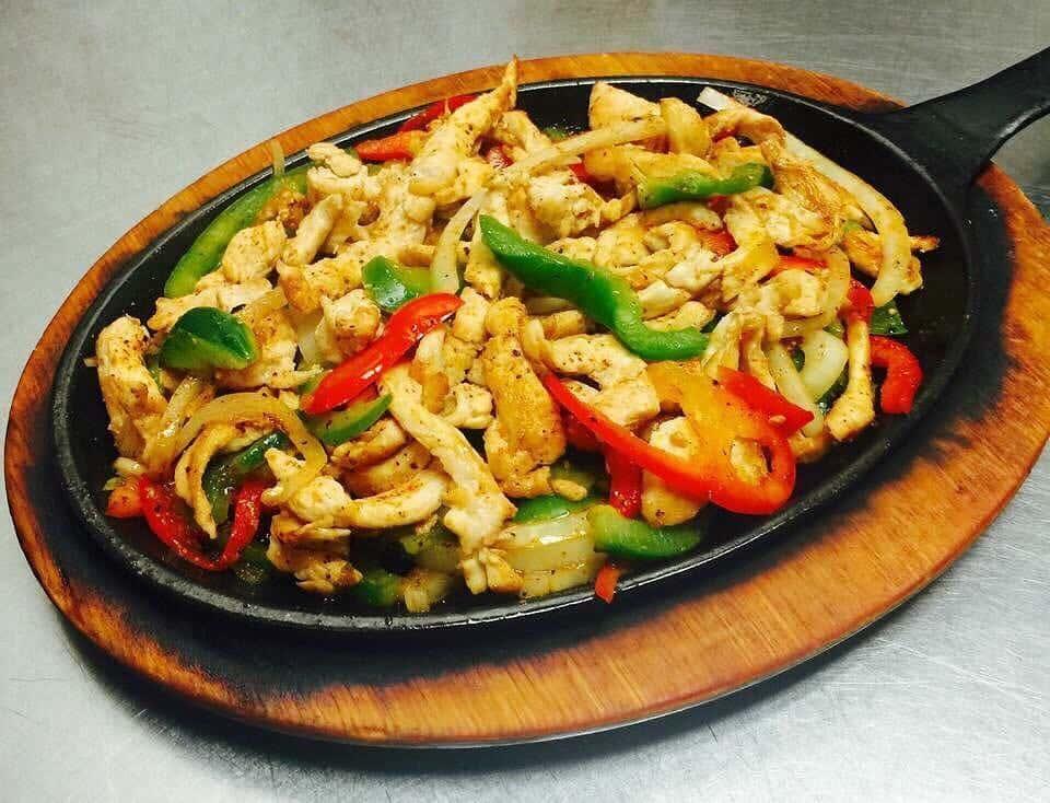 Chicken, Chorizo, or Vegetable