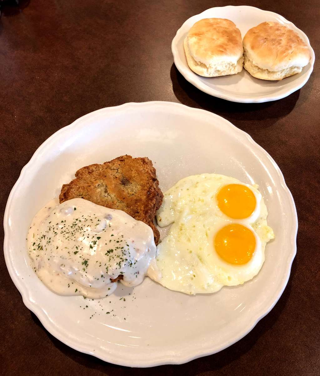 *SPECIAL* Country Fried Steak & Eggs