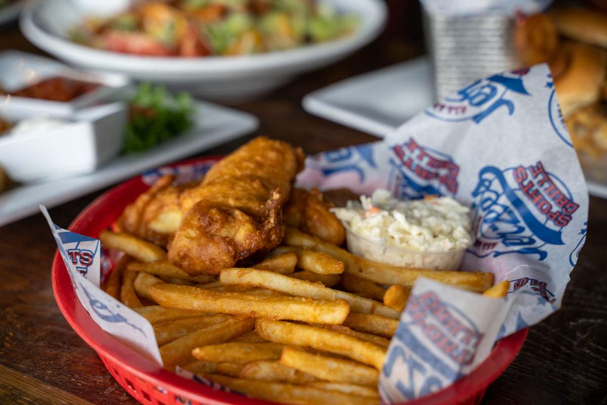 *Arctic Cod Fish & Chips