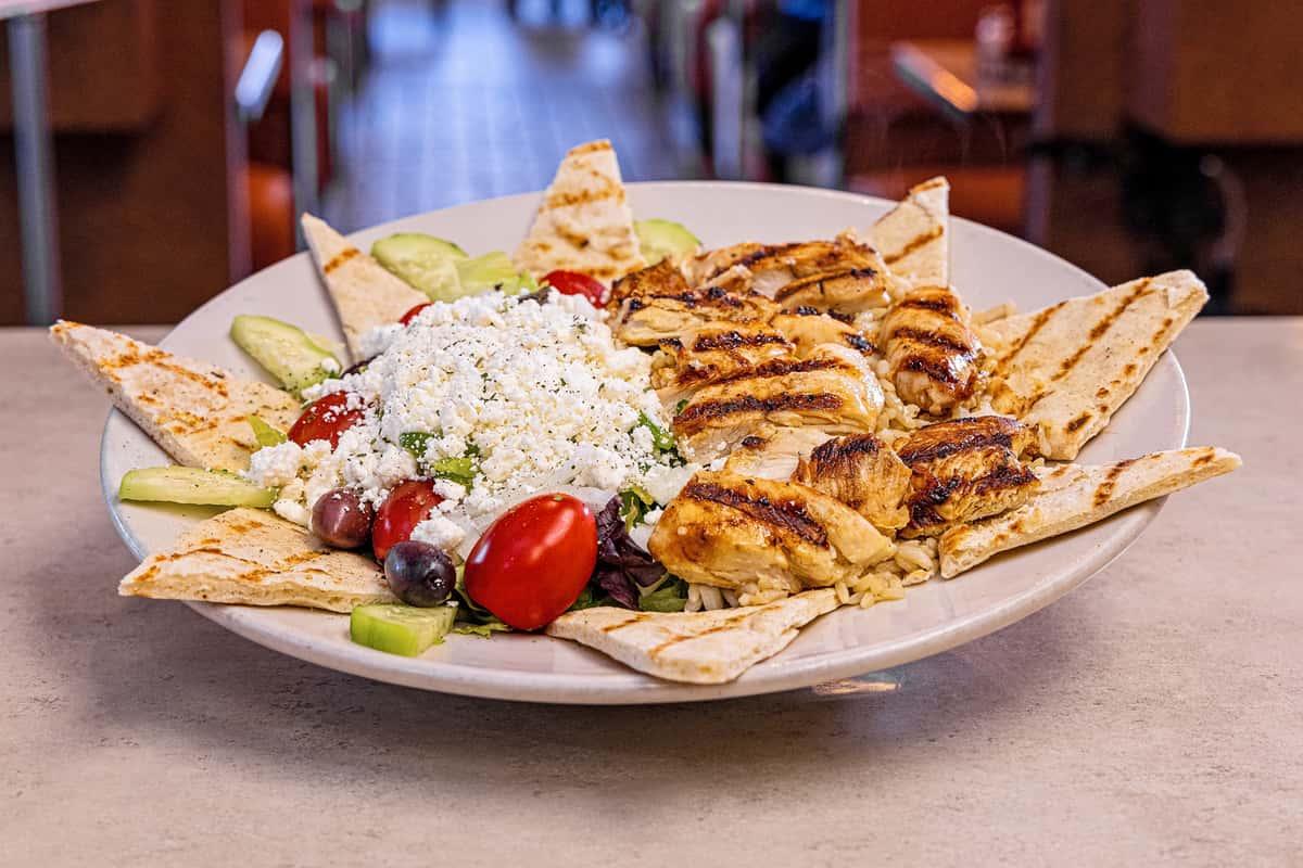 Greek Souvlaki Dinner