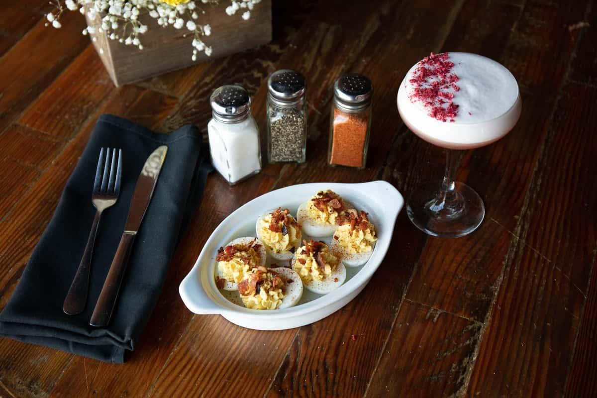 House-made Deviled Eggs