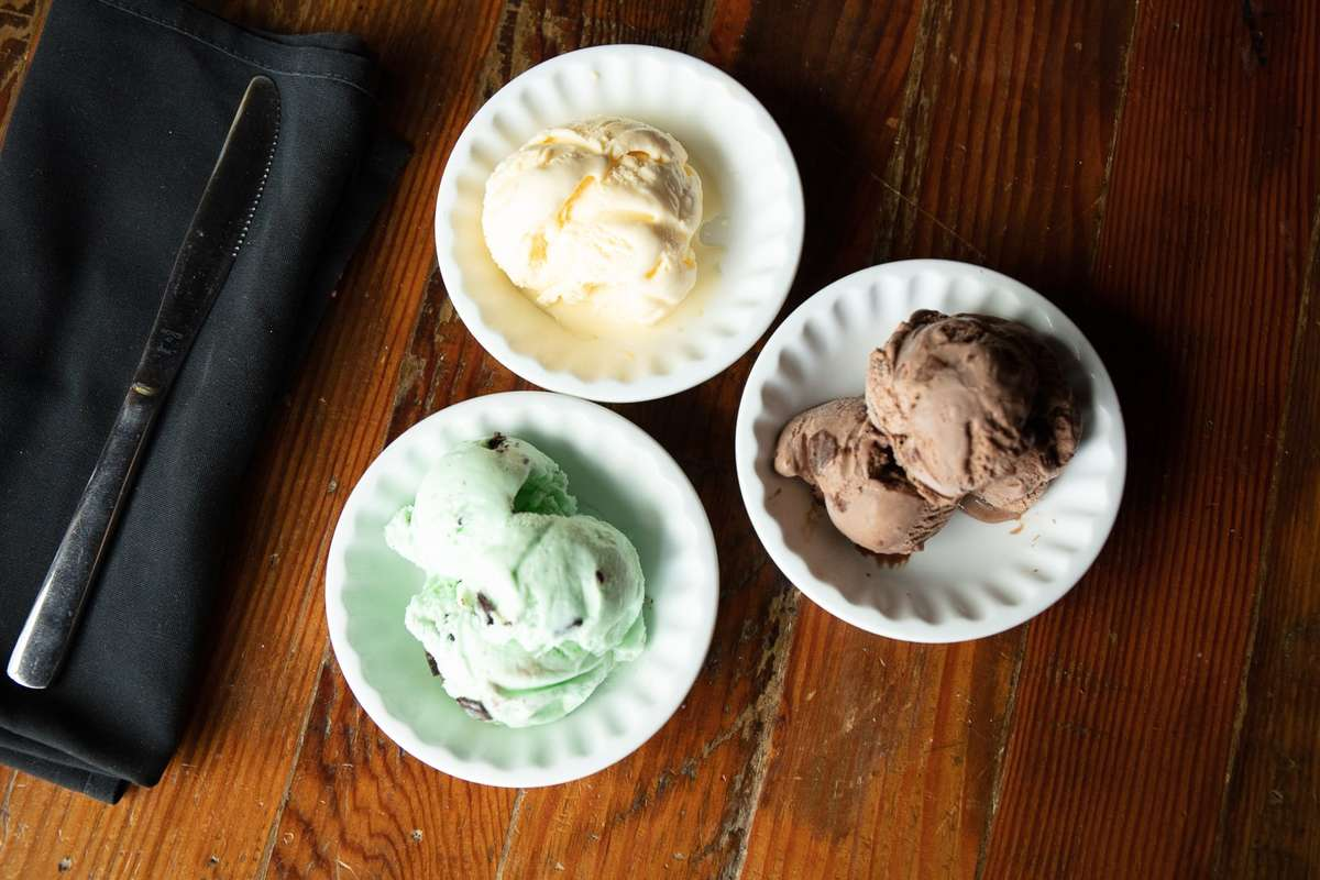 Daily Selections of Ice Cream