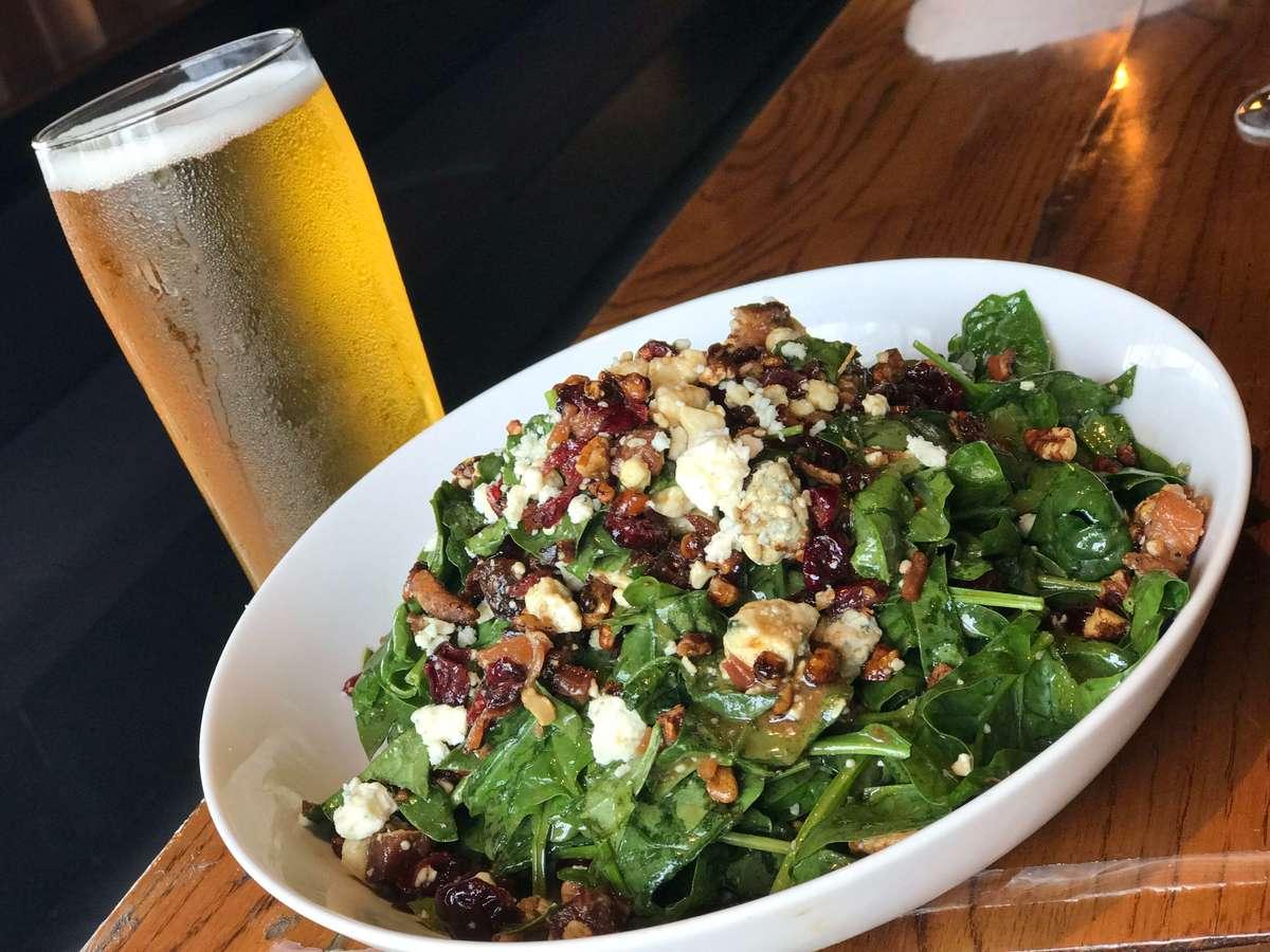 Chophouse Spinach Salad