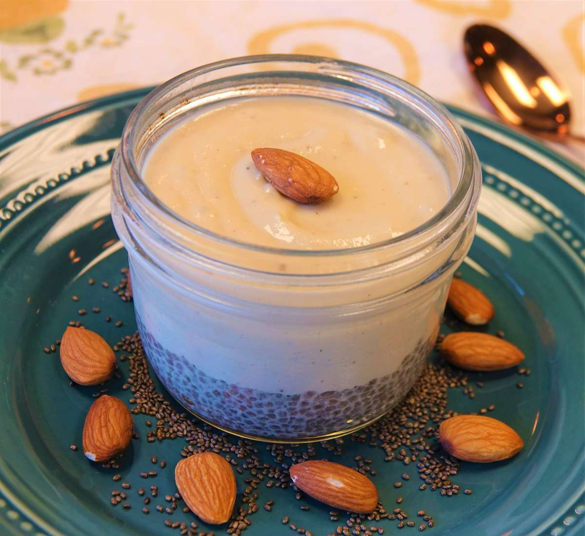 Almond Chia Pudding