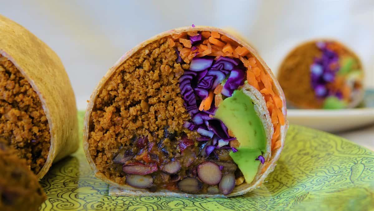 Chili Chorizo Burrito
