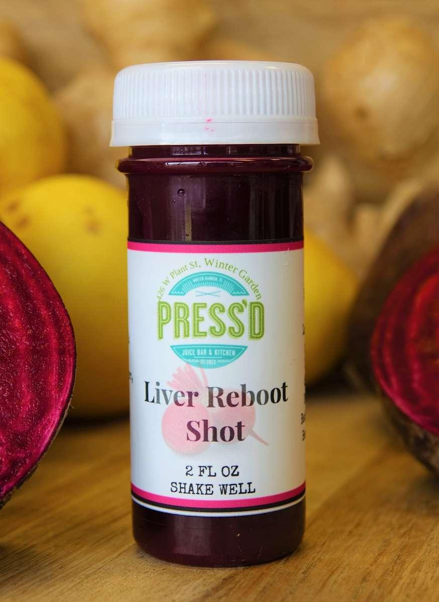 Liver Reboot Shot