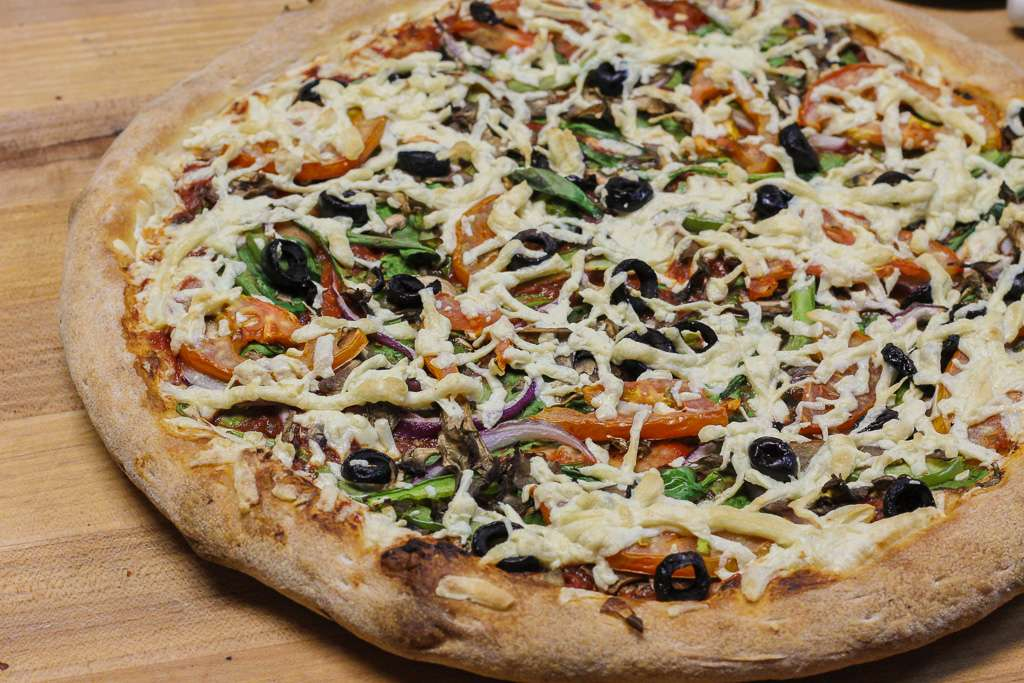 "12"" Vegan Margarita Pizza"