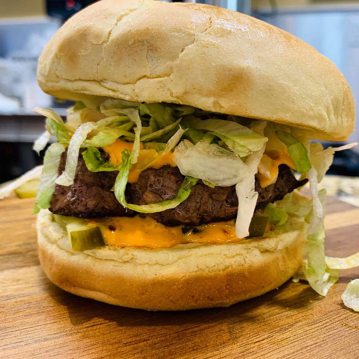 The Boom Boom Burger