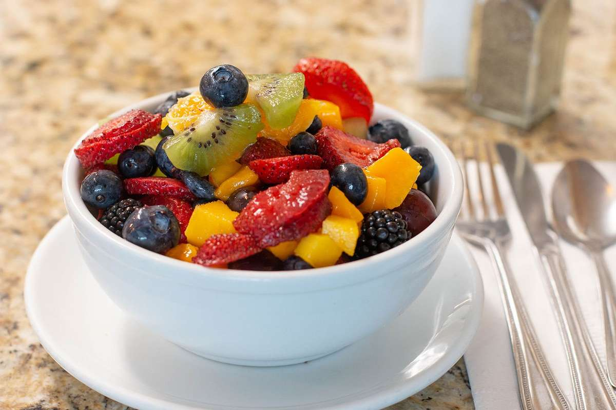 Not Your Average Fruit Salad