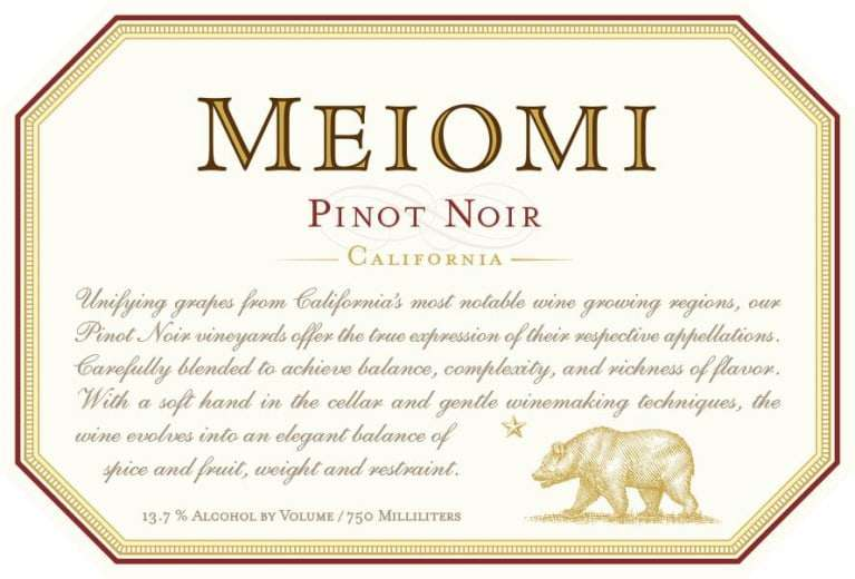 Meiome Pinot Noir
