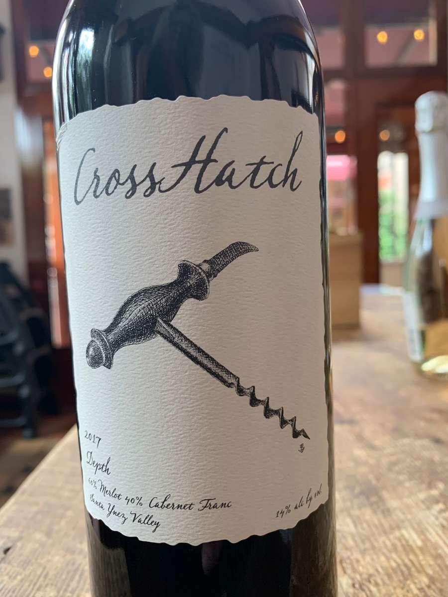 "Cross Hatch ""Depth"" Merlot"