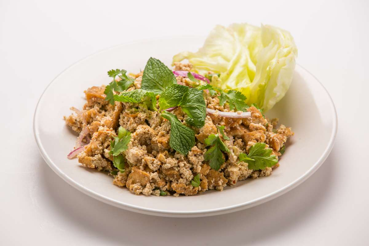 Tofu Wrap Salad