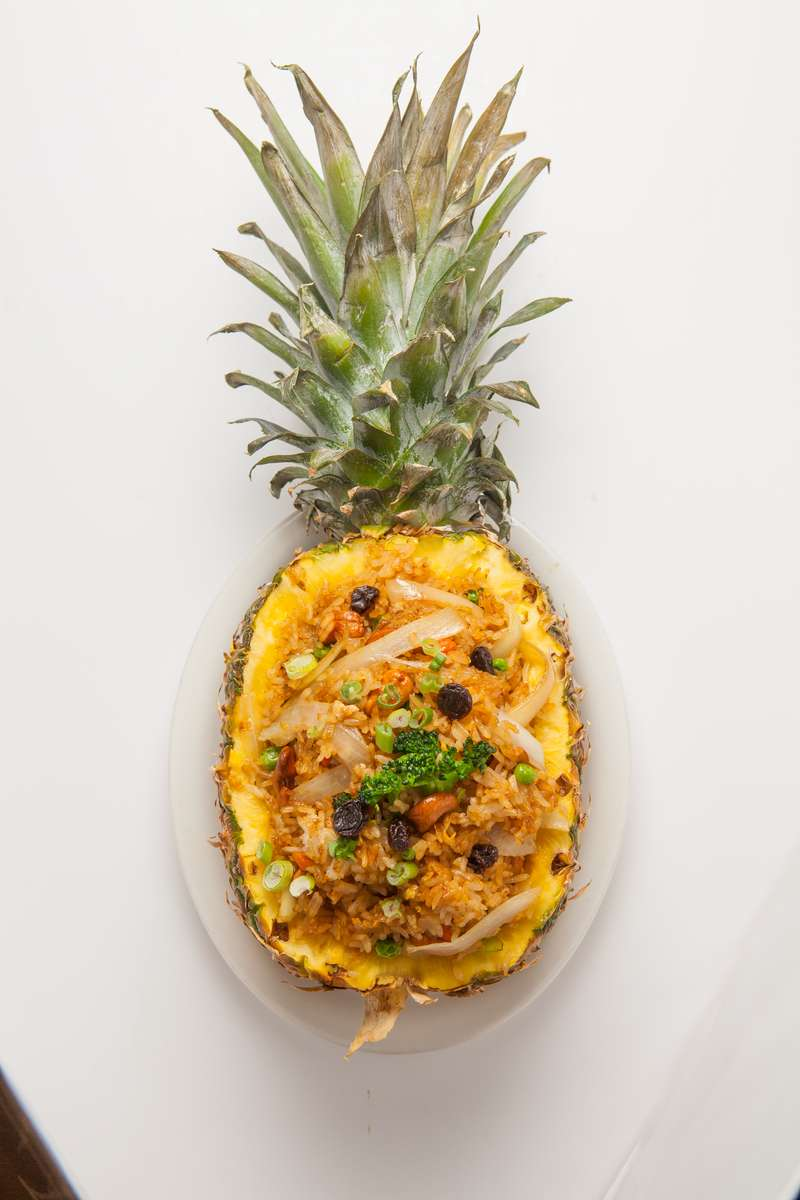 Pineapple Boat Fried Rice