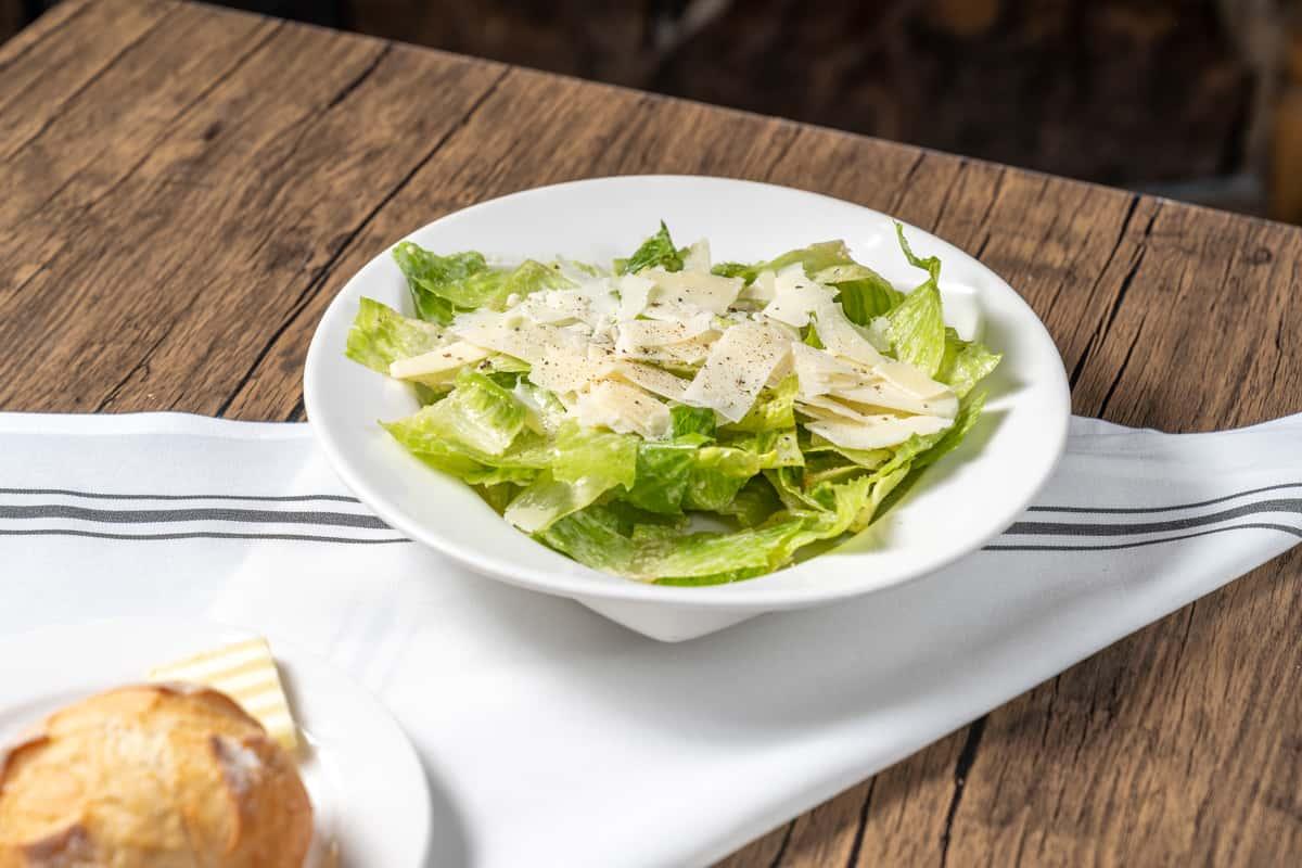 Baby Romaine Caesar Salad
