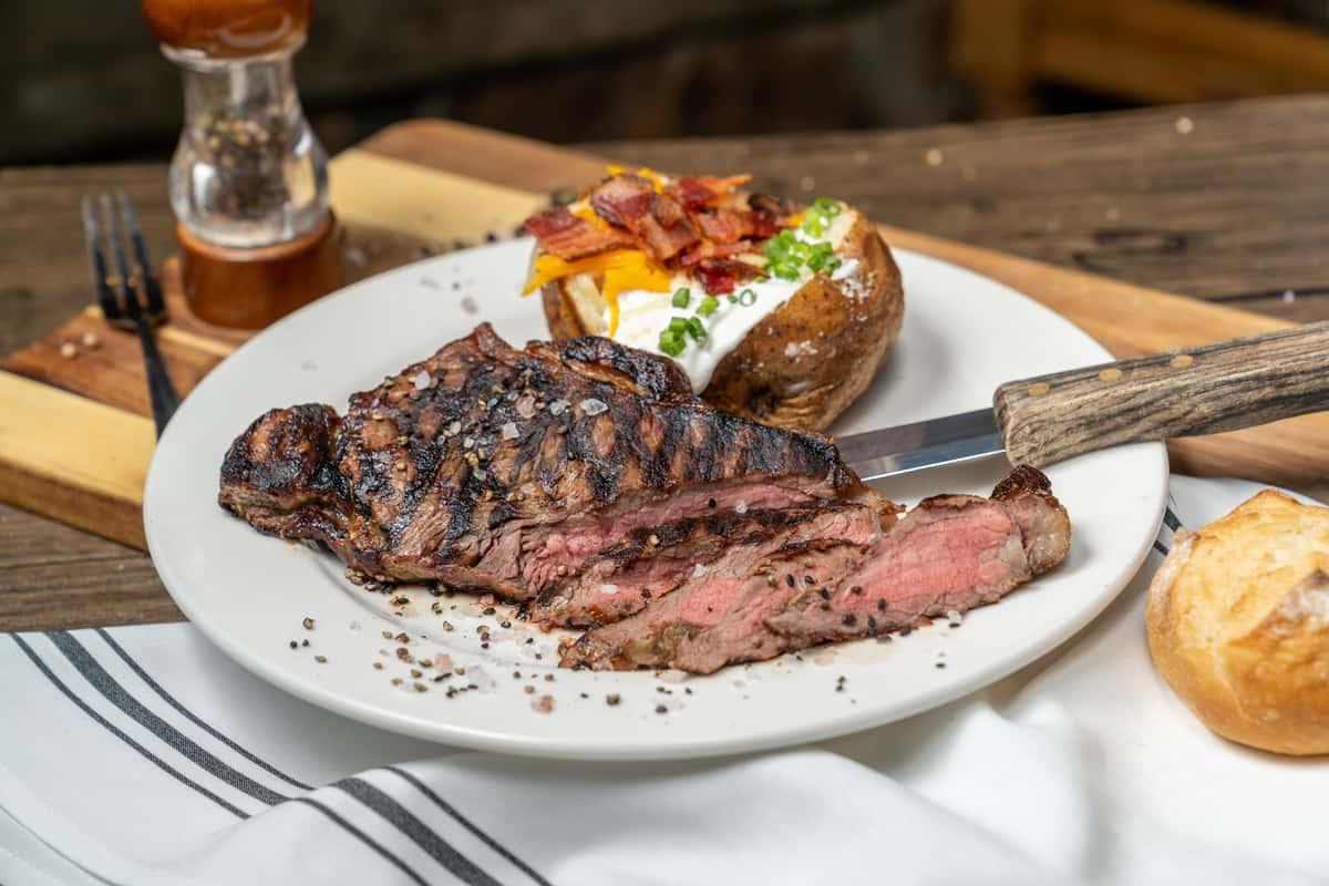 New York Steak of Certified Angus Beef