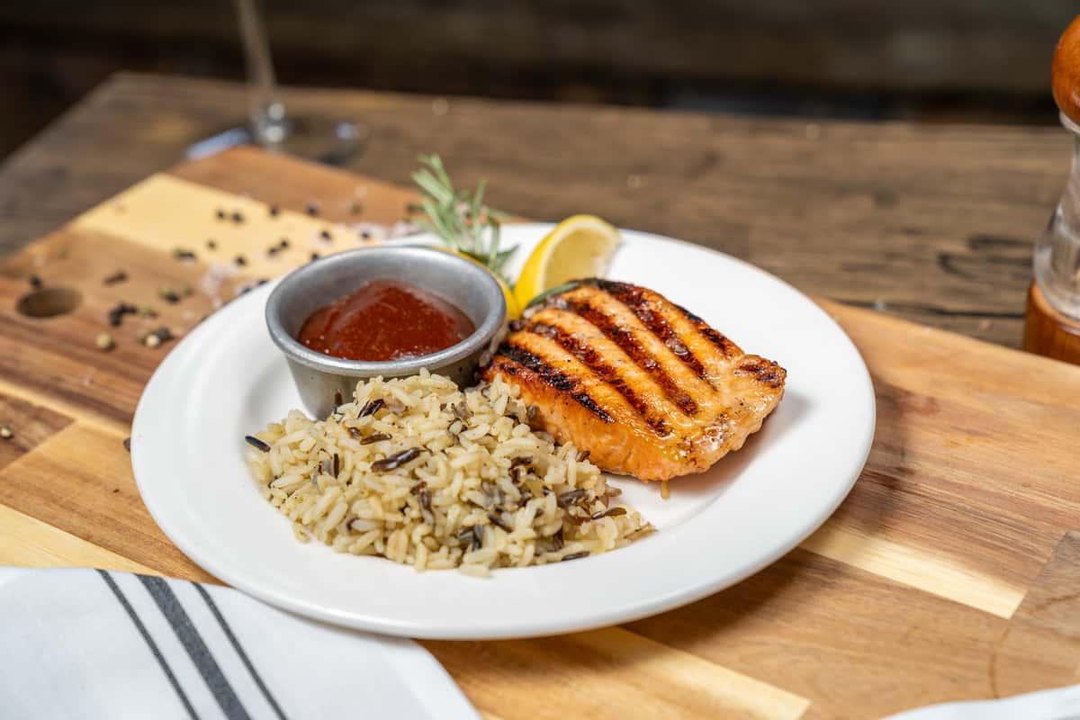 BBQ Salmon Filet