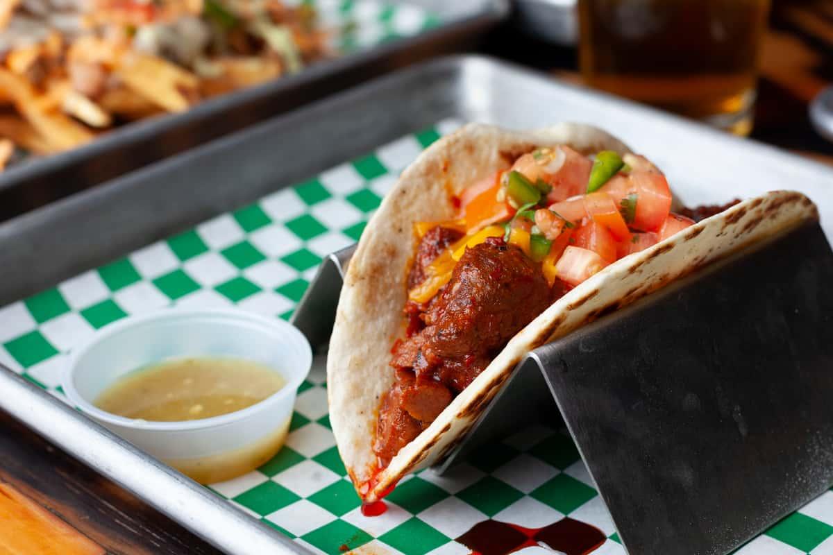 Pork Adovado Taco