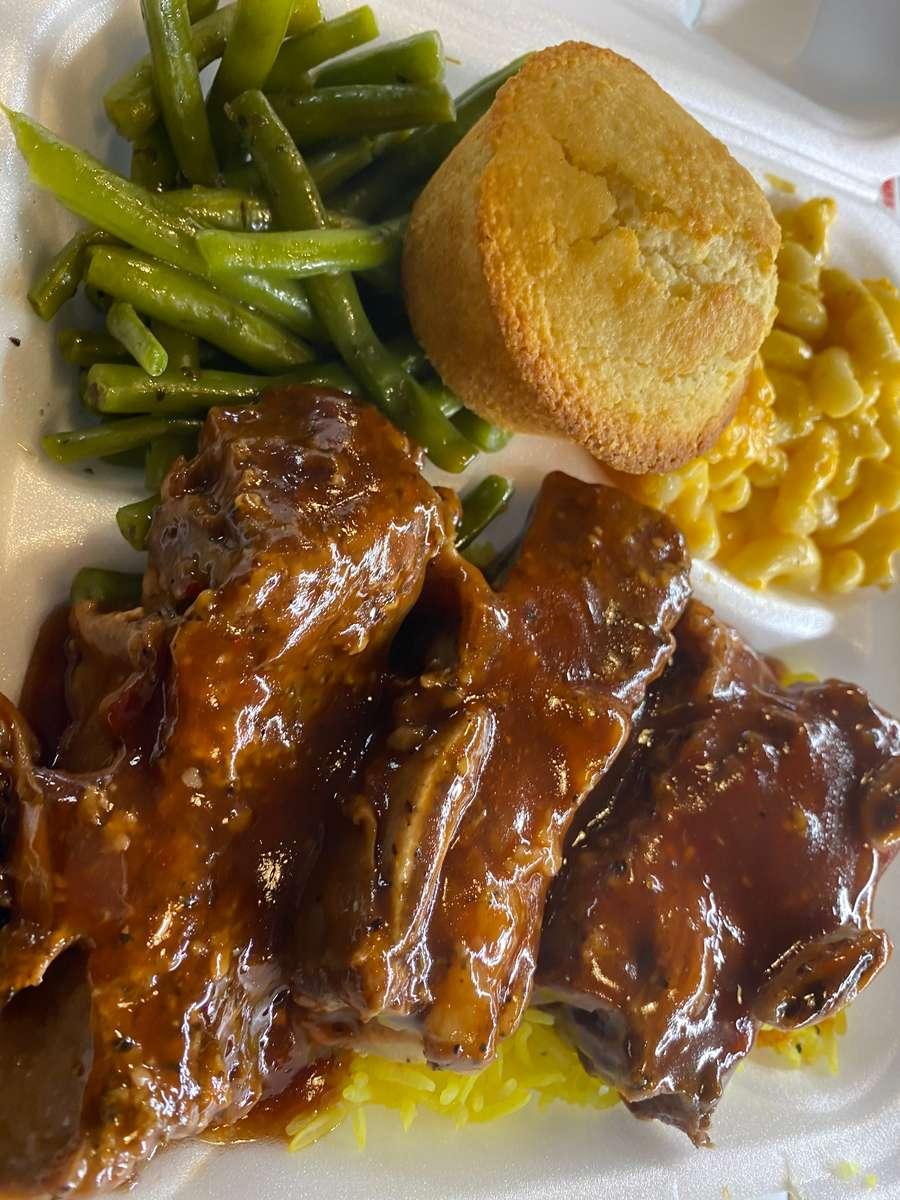 Beef Short Rib Dinner