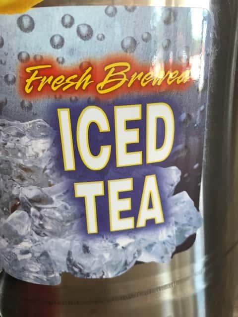 Fresh Brewed Sweet Tea