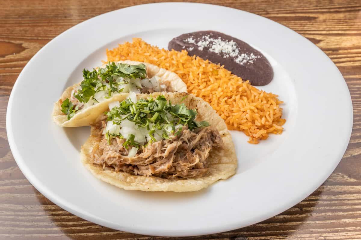 Carnitas Tacos (GF)