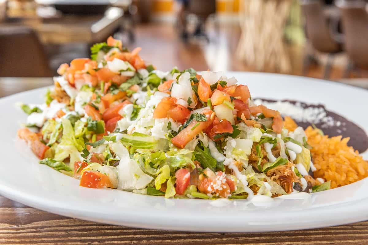 Salvadorian Veggie Enchiladas (GF)