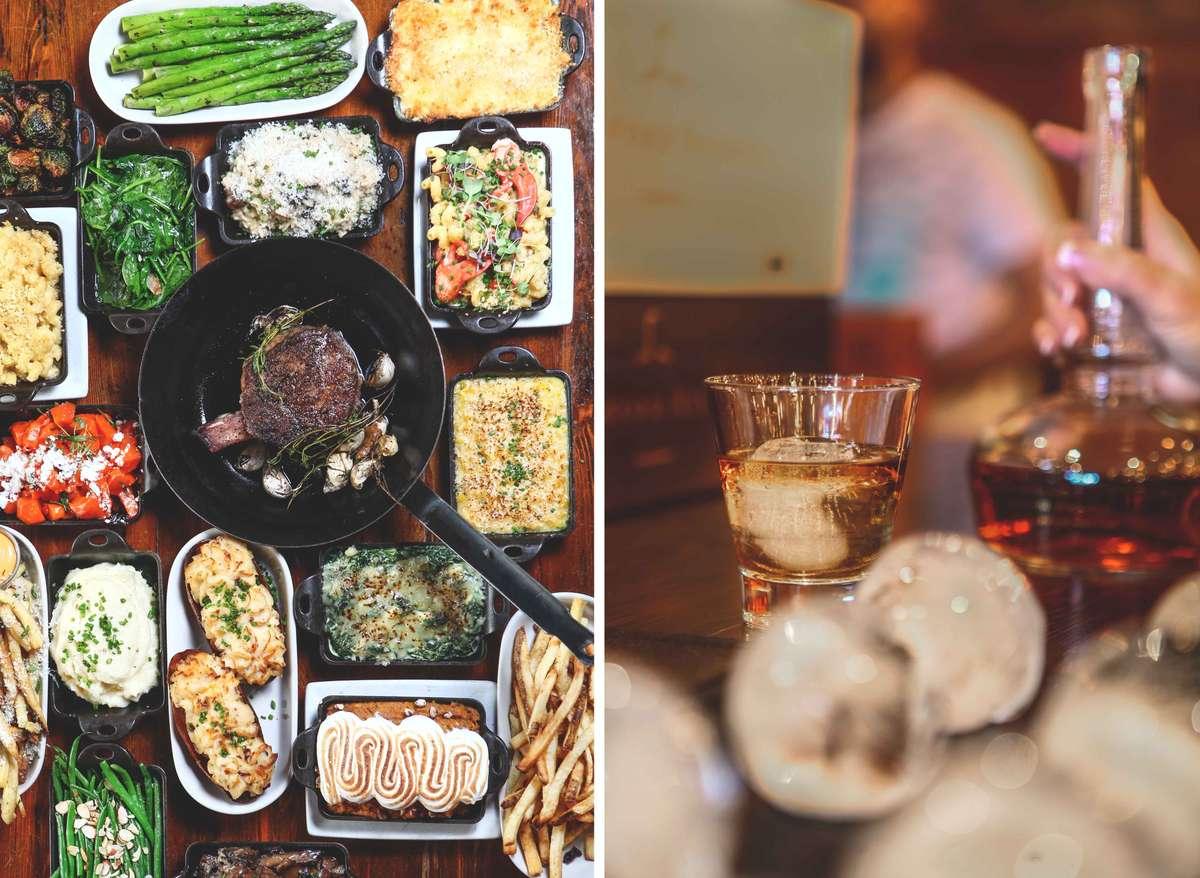food and bar