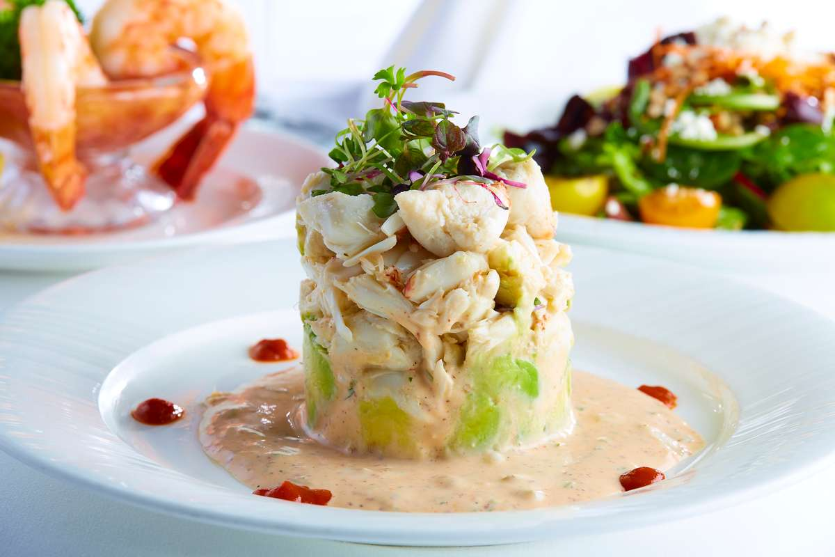 Café Pacific Crab Remoulade