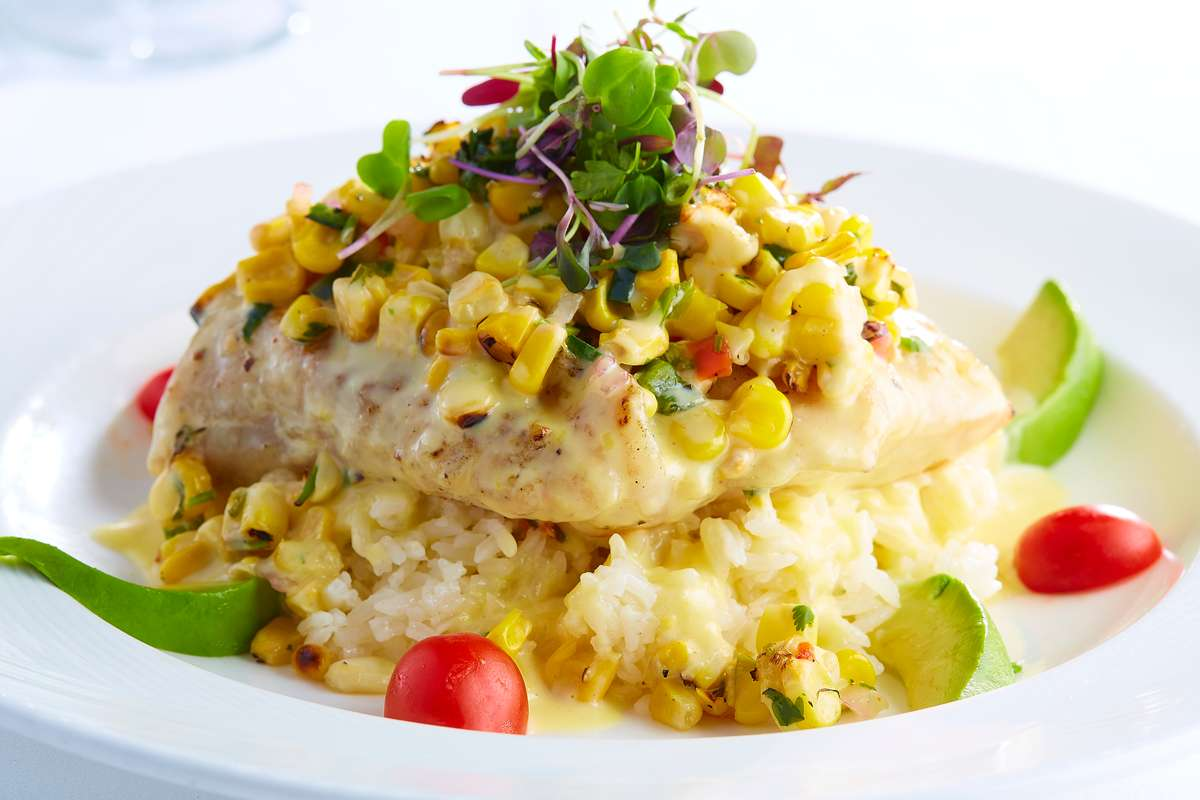 Grilled Texas Gulf Red Snapper