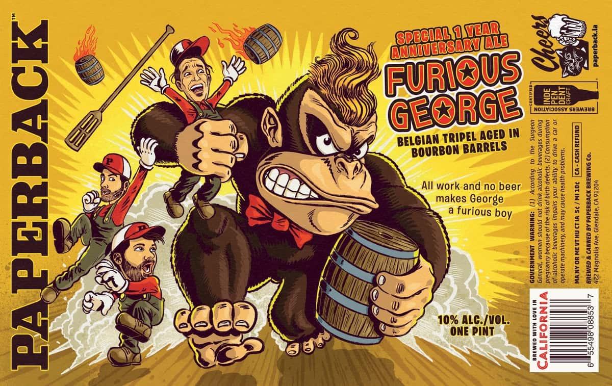 Furious George 'Belgian Tripel'